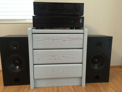 STEREO SYSTEM  KENWOOD /YAMAHA Burswood Victoria Park Area Preview