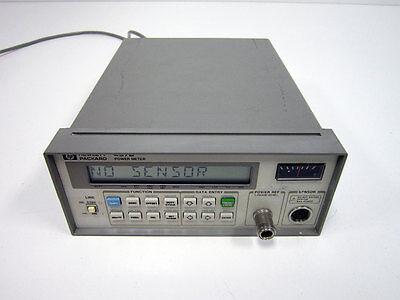 Hp Agilent 437b Rf Power Meter Rf 40ghz Gpib - Std