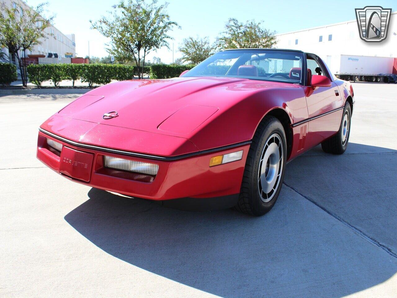 1984 Red Chevrolet Corvette     C4 Corvette Photo 3