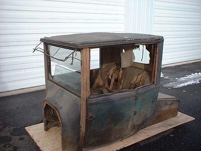 """Unique """"Survivor"""" 1918 Model T Ford Coupelet Body Brass Era Pre-16 1916 1917"""