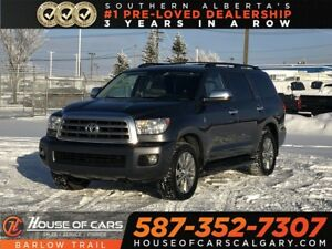 2015 Toyota Sequoia Limited / Heated leather seats / Back up Cam