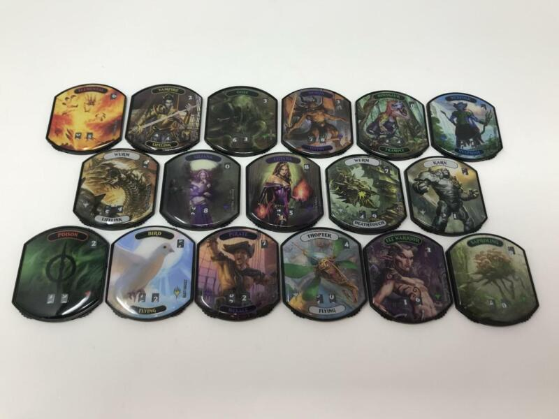 MTG Magic Gathering Lineage Collection Relic Tokens Complete Set of 17