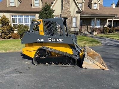 John Deere 323e Compact Loader Skidsteer Bobcat