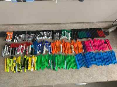 230 Assorted Highlighters Permanent Markers And Dry-erase Markers
