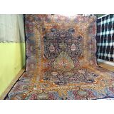 Cr.1930 Antique Persian Kashmar Hand Made Exquisite Rug 9' 6' x 13' 1""
