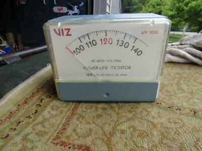 Viz Power Line Monitor Ac Rms Voltage Model Wv 120b Tested Working