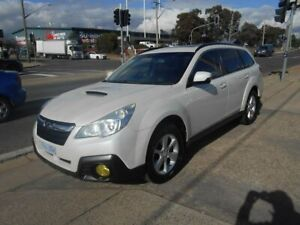 2013 Subaru Outback B5A MY13 2.0D Lineartronic AWD Premium White 7 Speed Constant Variable Wagon Fyshwick South Canberra Preview