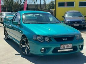 2007 Ford Falcon BF Mk II XR8 Ute Super Cab Green 6 Speed Manual Utility South Toowoomba Toowoomba City Preview