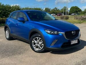 2017 Mazda CX-3 DK4W7A Maxx SKYACTIV-Drive i-ACTIV AWD Blue 6 Speed Sports Automatic Wagon Garbutt Townsville City Preview