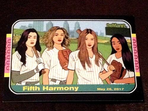 FIFTH HARMONY -  2017 -  CONCERT CARD