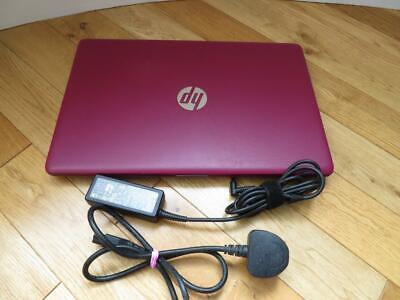 "Laptop Windows - HP 15-db0599sa AMD A6 Full HD 15.6"" Laptop 8GB RAM 500GB HDD Windows 10 Burgundy"