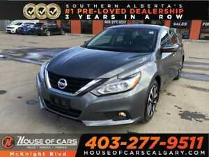 2018 Nissan Altima 2.5SV / Sunroof / Back Up Cam