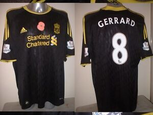 Liverpool GERRARD Poppy Jersey Shirt Adult L LA Galaxy Soccer Football Adidas
