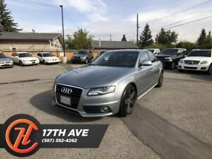 2009 Audi A4 3.2 S-Line / Hands free / Heated seats / Sunroof