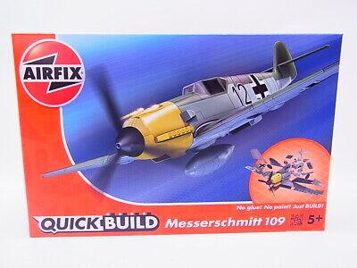 68434 AIRFIX J6001 Quick Build Messerschmitt 109 Bausatz Flugzeug NEU OVP