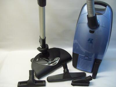 Filtration 12 Amp (Riccar Canister Vacuum with Power Head vac system 12 amp HEPA Filtration blue )