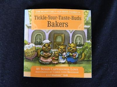 Bushytail Squirrel Family Tickle Your Taste Buds Bakers Storybook Lil Woodzeez Lil Taste