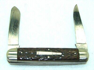 VINTAGE REMINGTON, 1920-40, R4353 MUSKRAT BULLET KNIFE, ROGERS BONE, EXCELLENT