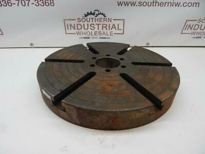 16 Rotary Table Top Only. Great For Positioner Or Other Project T Slots