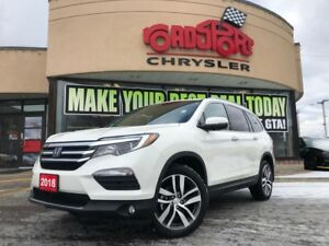 2018 Honda Pilot Touring ONLY 691 KMS 7 PASS NAVI ROOF NO ACCIDE