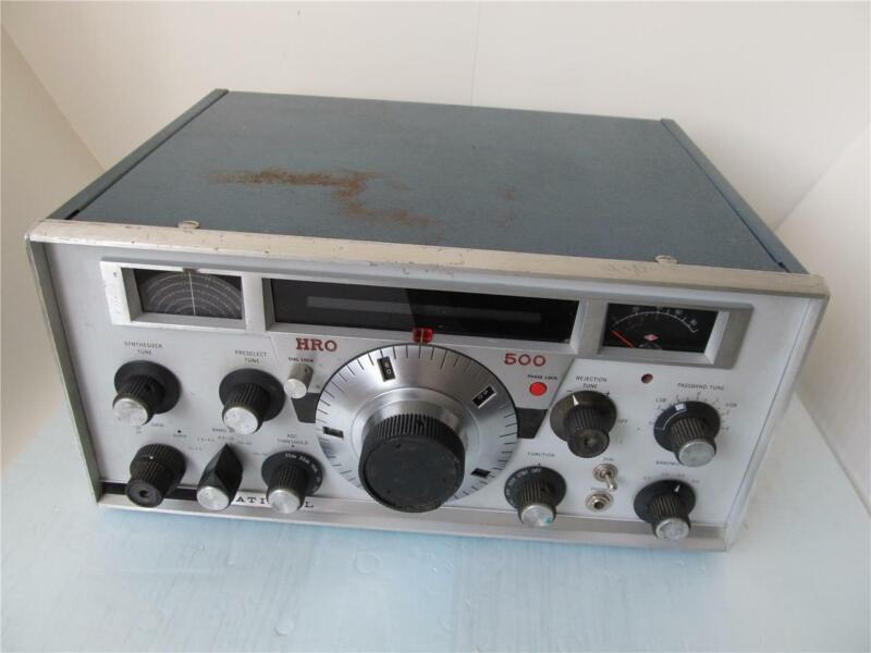 National Radio HRO 500 Receiver ****
