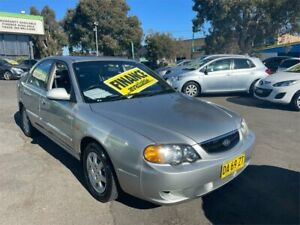 2003 Kia Spectra FB Silver 4 Speed Automatic Hatchback Lidcombe Auburn Area Preview