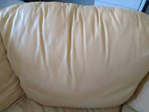 Moving sale 3 Seats leather sofa $169...excellent condition Carlton Kogarah Area Preview
