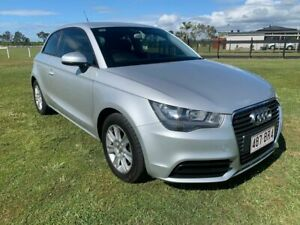 2012 Audi A1 8X MY12 Ambition S Tronic Silver 7 Speed Sports Automatic Dual Clutch Hatchback Woongoolba Gold Coast North Preview