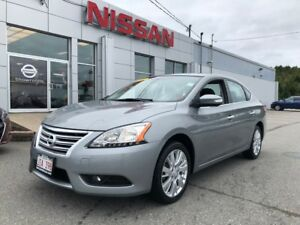 2014 Nissan Sentra SL     $106 BI WEEKLY Loaded with very low km