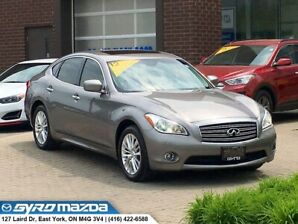 2012 Infiniti M37x LOW KILOMETERS! ONE OWNER, NO ACCIDENTS!