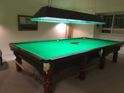 12ft * 6ft, Heiron & Smith Snooker Table for Sale