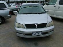 2002 Mitsubishi Lancer Sedan Coburg North Moreland Area Preview