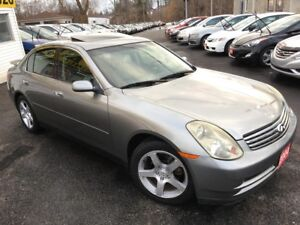 2004 Infiniti G35 Luxury / Auto / Leather / Sunroof / Heated sea