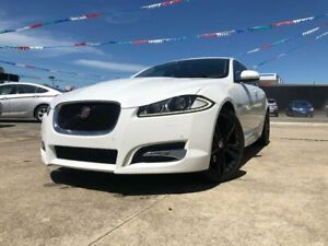 2015 Jaguar XF X250 MY15 Premium Luxury White 8 Speed Sports Automatic Sedan Maidstone Maribyrnong Area Preview