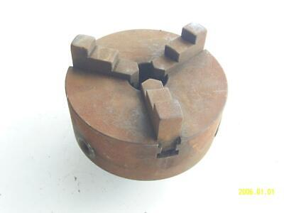 6 3 Jaw Chuck For Lathe. 1-34 X 5 Tpi Mount Skinner 3806