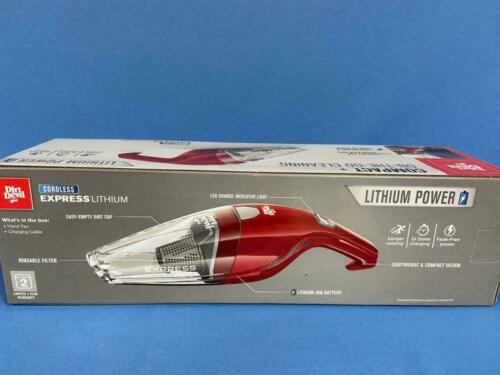 Dirt Devil On-the-go-Cleaning  / BD30005 Lithium power, cordless & lightweight.