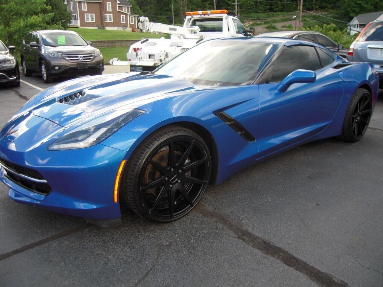 2014 Blue Chevrolet Corvette  1LT | C7 Corvette Photo 1