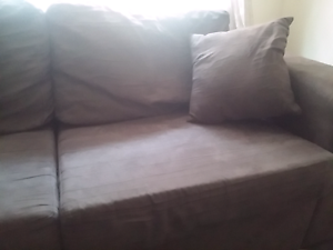 Sofa bed - Suede Look  - chocolate Forster Great Lakes Area Preview