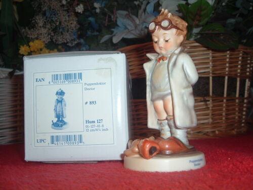 HUMMEL  Doctor, #127, TMK-7, NEW, Mint, w/Original Box
