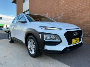 2019 Hyundai Kona OS.2 MY19 Active (FWD) White 6 Speed Automatic Wagon Phillip Woden Valley Preview