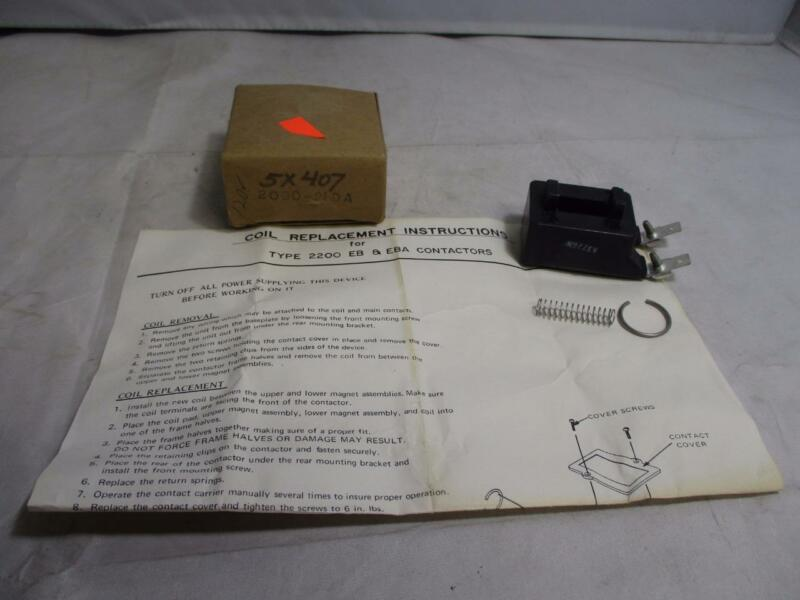 Gould Replacement Coil 2090-21DA for Type 2200 EB & EBA Contactors