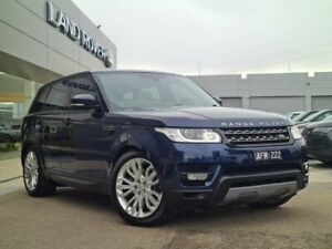 2015 Land Rover Range Rover Sport L494 16MY SE Blue 8 Speed Sports Automatic Wagon