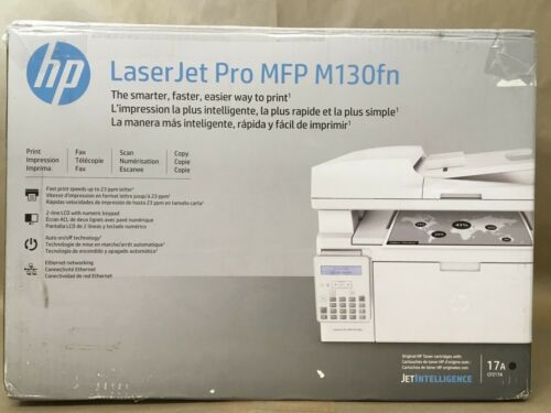 HP LaserJet Pro MFP M130fn Black-and-White All-In-One Laser Printer G3Q59A#BGJ