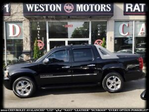 2010 Chevrolet Avalanche LTZ*4X4*NAVI*LEATHER*SUNROOF