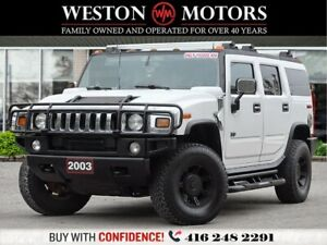 2003 Hummer H2 4X4*LEATHER*POWER GROUP*DVD!!*SOLD AS IS!!*