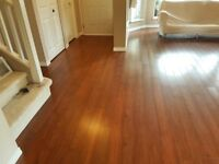 12.3 mm Laminate flooring installed for $2.49/sf..