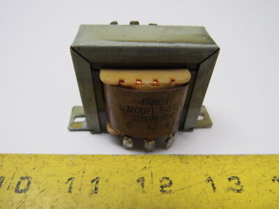 Fanon Courier 5h640 T-142 Line-matching Transformer 70v