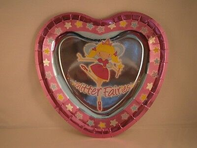 GLITTER FAIRY PARTY PLATES 9