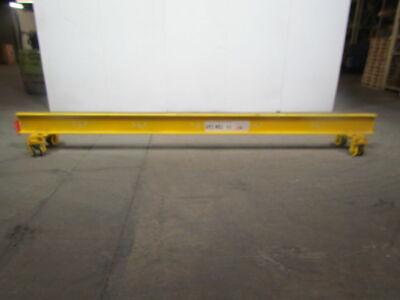 14 Span 14 Ton 500lb Single Girder Under Hung Bridge Crane Wpush Type Trolley
