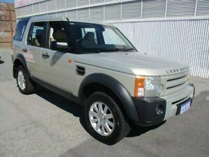 2006 Land Rover Discovery 3 HSE Gold 6 Speed Sports Automatic Wagon West Perth Perth City Area Preview
